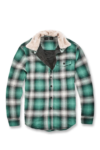 Jordan Craig - Denali Flannel Shirt (Money Green)