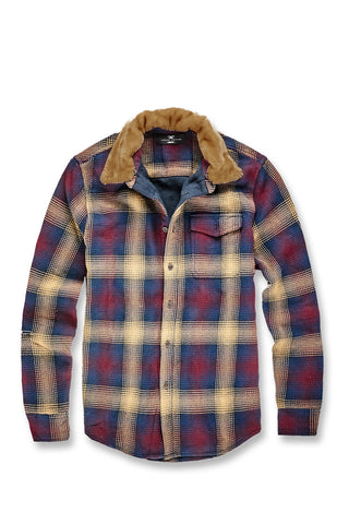 Jordan Craig - Denali Flannel Shirt (Midnight Blue)