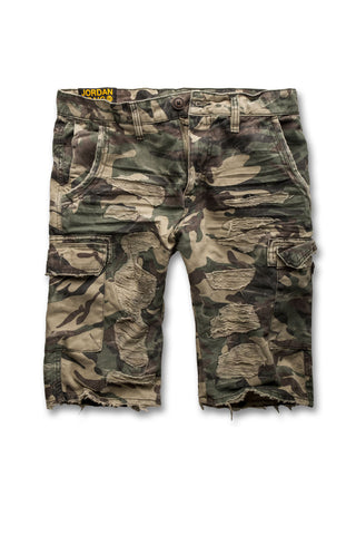 Jordan Craig - Amazon  Camo Cargo Shorts (Woodland)