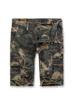 Jordan Craig - War Torn Cargo Shorts (Woodland)