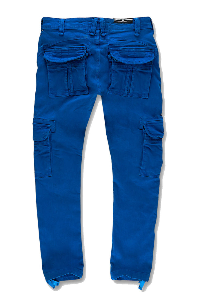 Xavier - Casual Cargo Pants 2.0 (Royal)