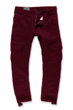 Xavier - Casual Cargo Pants 2.0 (Wine)