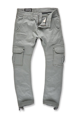 Jordan Craig - Xavier - Casual Cargo Pants 2.0 (Light Grey)