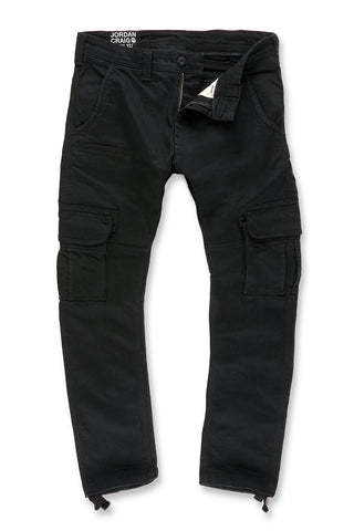 Xavier - Casual Cargo Pants 2.0 (Jet Black)