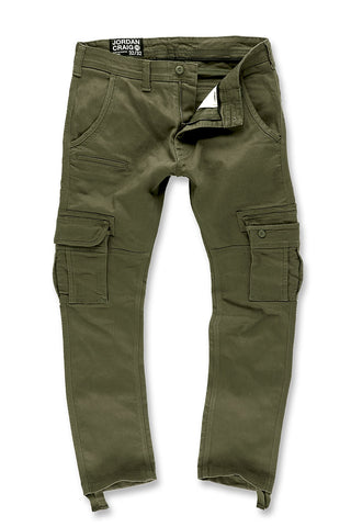 Xavier - Casual Cargo Pants 2.0 (Army Green)