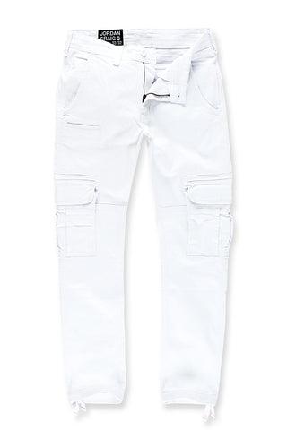 Xavier - Casual Cargo Pants 2.0 (White)