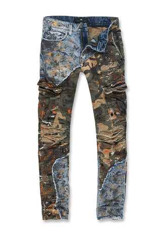 Sean - Freedom Camouflage Denim (Woodland)