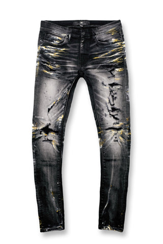Sean - Goddess Denim (Industrial Black)