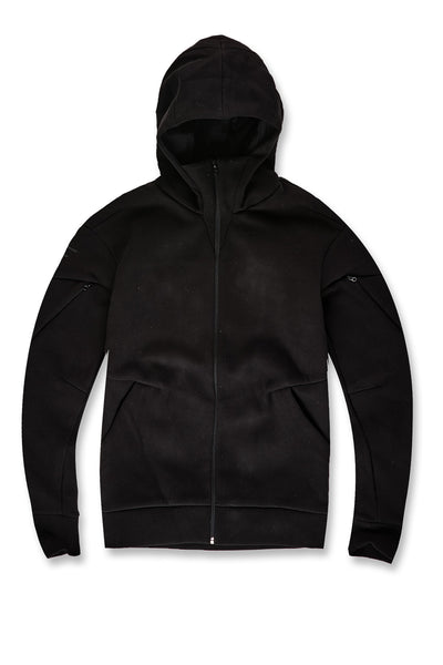 Niagara Tactical Zip Up Hoodie (Jet Black)