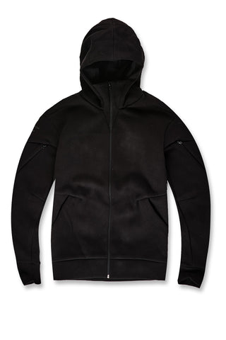 Jordan Craig - Niagara Tactical Zip Up Hoodie (Jet Black)