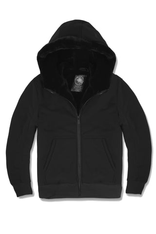 Essential Fur Lined Zip Up Hoodie