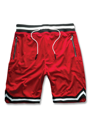Jordan Craig - Rucker Basketball Shorts (Red)