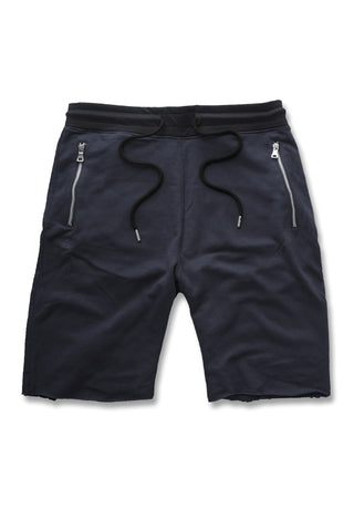 Jordan Craig - Raw Edge French Terry Shorts (Navy)