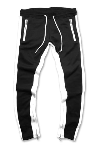 Essential Fleece Track Pants (Black)