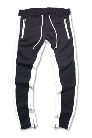 Essential Fleece Track Pants (Navy)