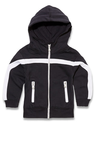 Jordan Craig - Kids Essential Fleece Track Hoodie (Navy)