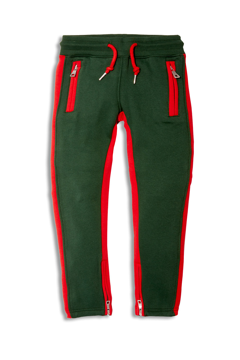 Jordan Craig - Kids Essential Fleece Track Pants (Green)