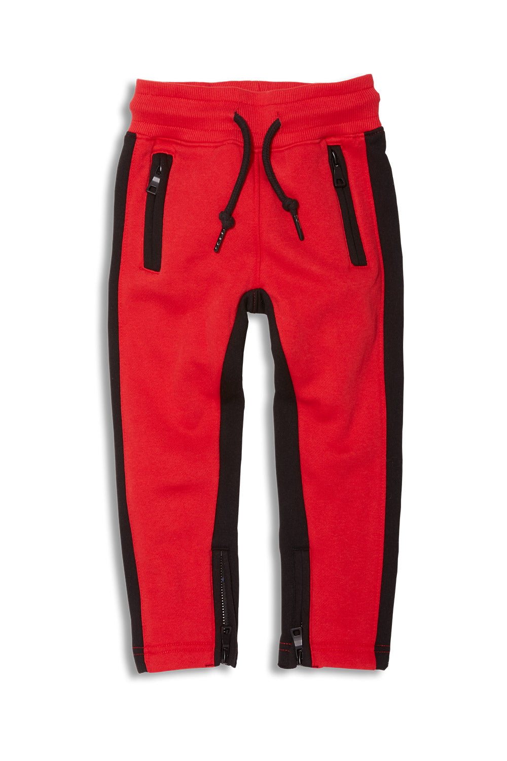 Jordan Craig - Kids Essential Fleece Track Pants (Red)
