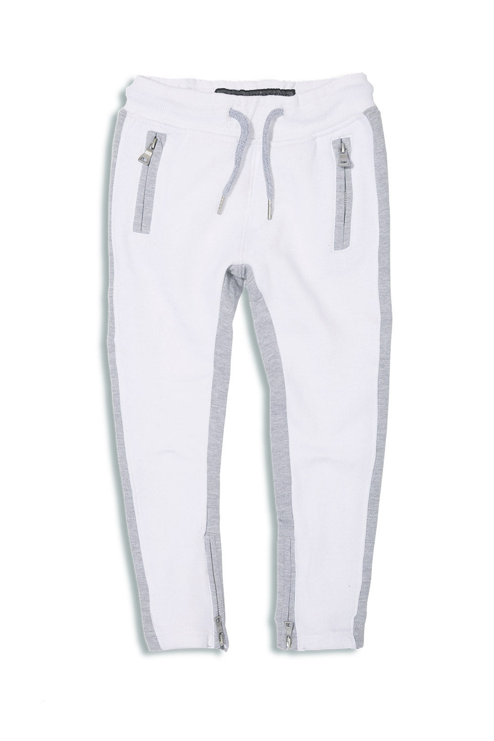 Jordan Craig - Kids Essential Fleece Track Pants (White)