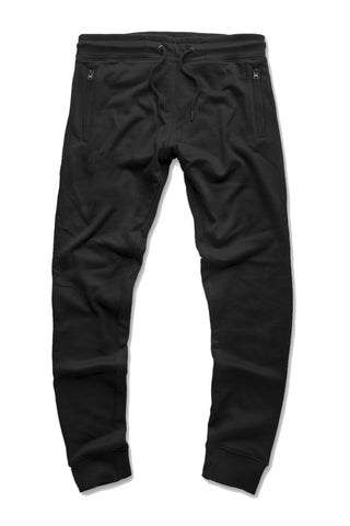 French Terry Essential Jogger Sweatpants (Black)