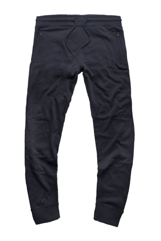 French Terry Essential Jogger Sweatpants (Navy)