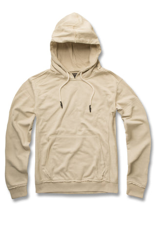 Jordan Craig - French Terry Essential Pullover Hoodie (Cream)