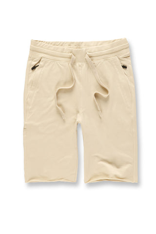 Palma French Terry Shorts (Stone)