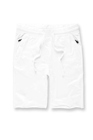 Palma French Terry Shorts (White)