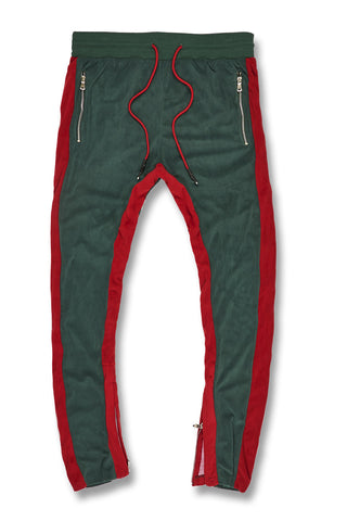 Luciano Velour Pants (Green)