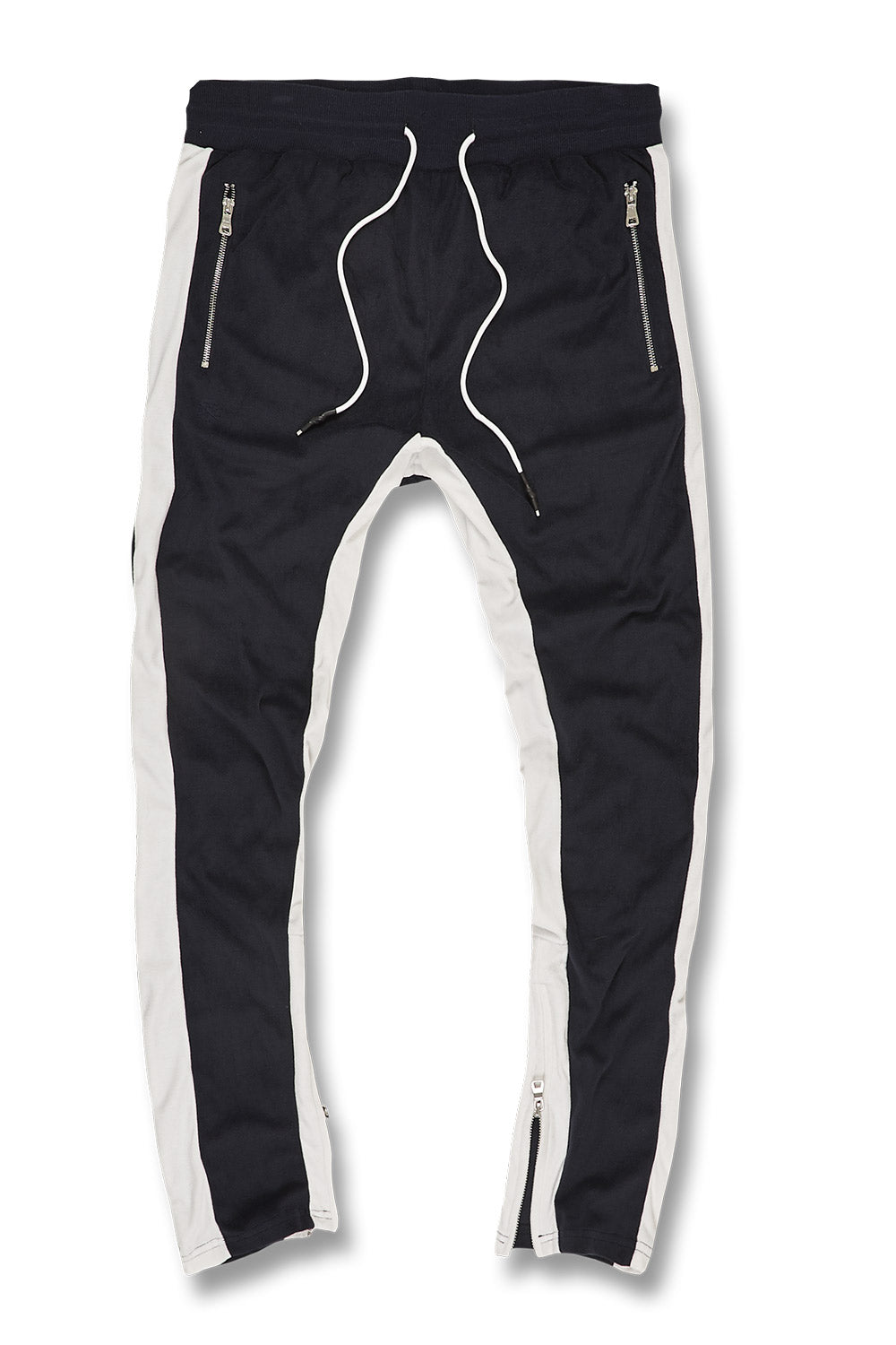 Luciano Velour Pants (Navy)