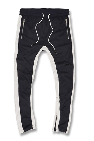 Jordan Craig - Big Men's Luciano Velour Pants (Navy)