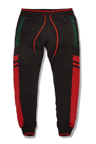 Jordan Craig - Big Men's Roma Track Pants (Black)