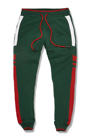 Jordan Craig - Big Men's Roma Track Pants (Green)