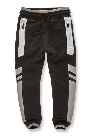 Kids Roma Track Pants (Gun Metal)