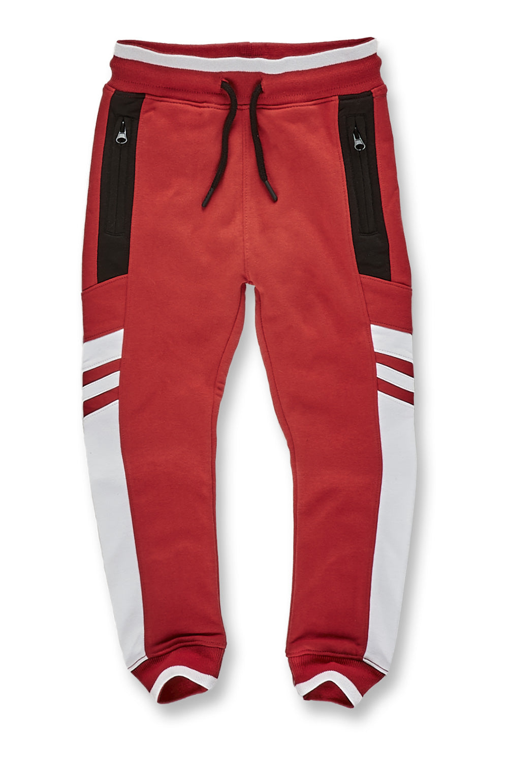 Kids Roma Track Pants (Red)