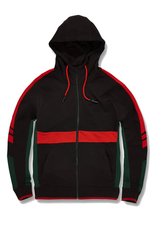 Jordan Craig - Big Men's Roma Track Hoodie (Black)
