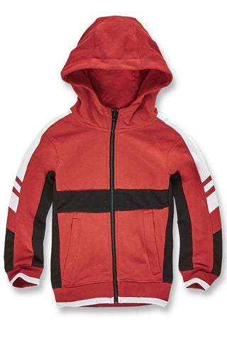 Kids Roma Track Hoodie (Red)