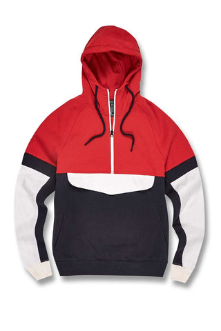 Jordan Craig - Harrington Track Hoodie (Red)