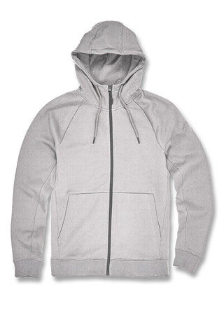 Uptown Zip Up Hoodie 2.0 (Heather Grey)