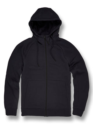 Jordan Craig - Big Men's Uptown Zip Up Hoodie (Navy)