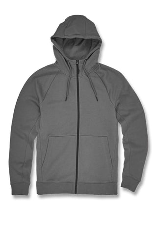 Uptown Zip Up Hoodie (Charcoal)