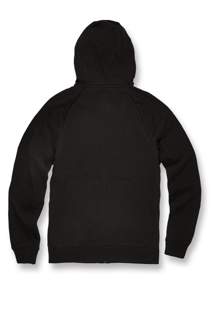 Jordan Craig - Big Men's Uptown Zip Up Hoodie (Black)