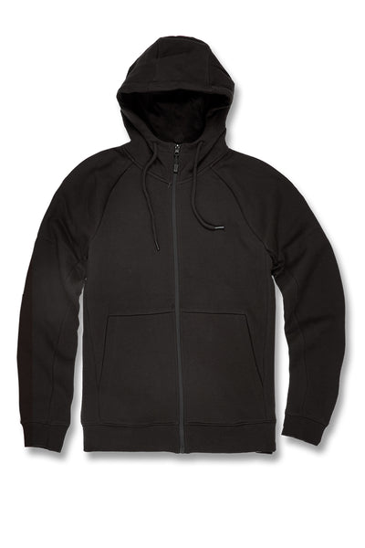 Uptown Zip Up Hoodie 2.0 (Black)