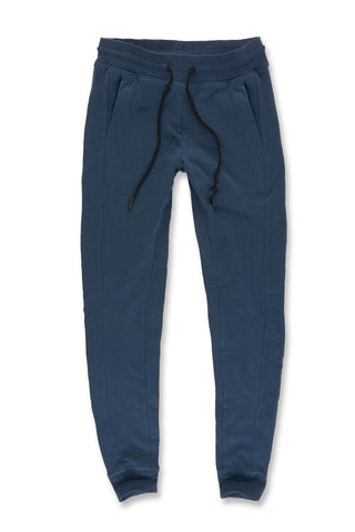 Melange Uptown Jogger Sweatpants (Royal Navy)