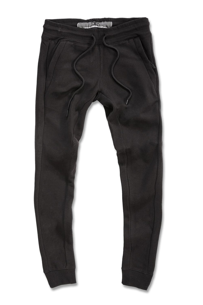 Big Men's Uptown Jogger Sweatpants (Black)