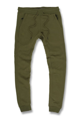 Uptown Jogger Sweatpants (Olive)