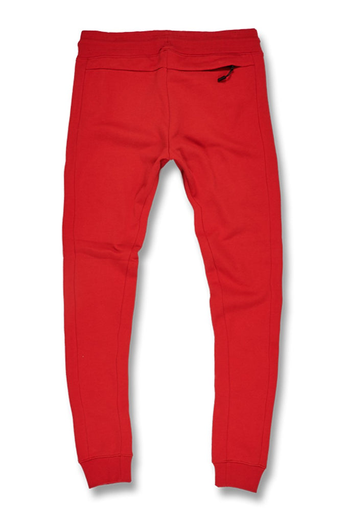 Big Men's Uptown Jogger Sweatpants (Red)