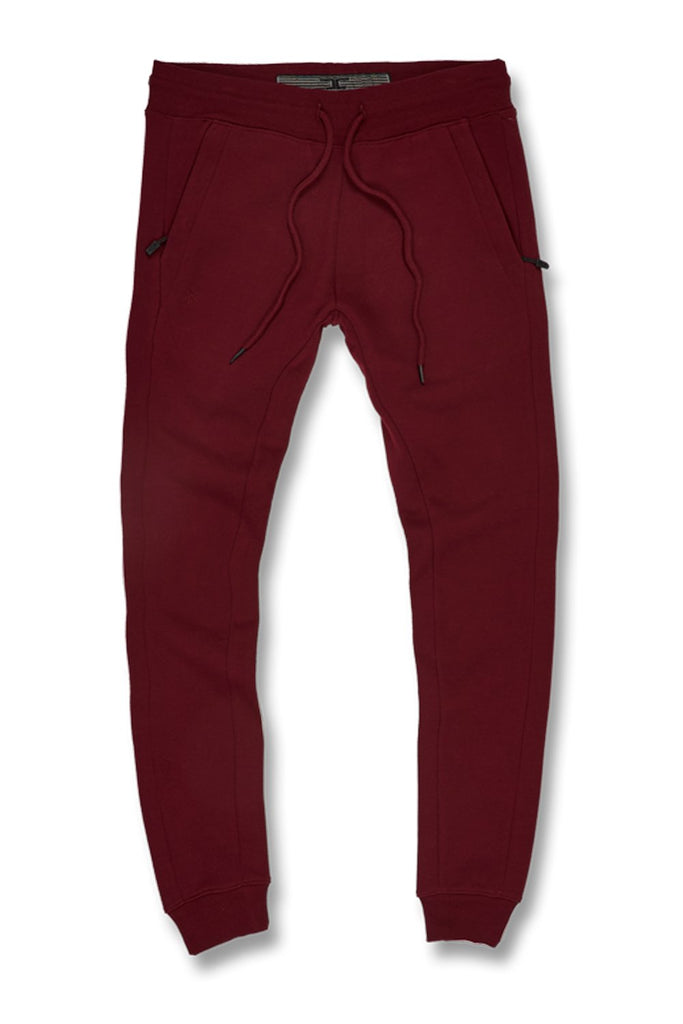 Uptown Jogger Sweatpants (Wine)