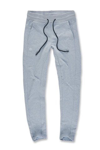 Melange Uptown Classic Sweatpants (Ice Blue)
