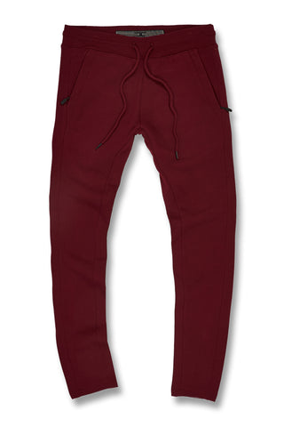 Big Men's Uptown Classic Sweatpants (Wine)
